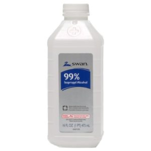 99% Isopropyl Alcohol Antispetic Solution - 16 OZ - 2 Pack