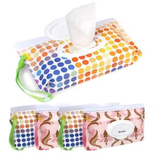 Ava & Kings 4pc Resealable Baby Wipe Case
