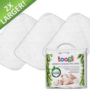 Extra Large Changing Pad Liners By Toogli