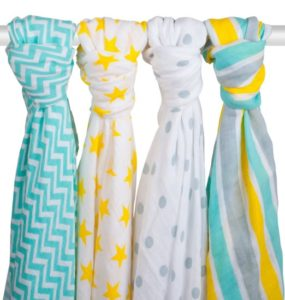 PREMIUM SOFT MUSLIN SWADDLE BLANKETS