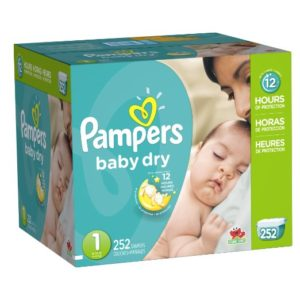 Pampers Baby Dry Diapers Economy Plus Pack