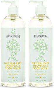 Puracy 100% Natural Baby Shampoo & Body Wash